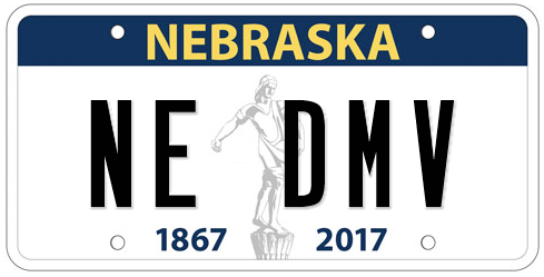 Message Plates Nebraska Department Of Motor Vehicles