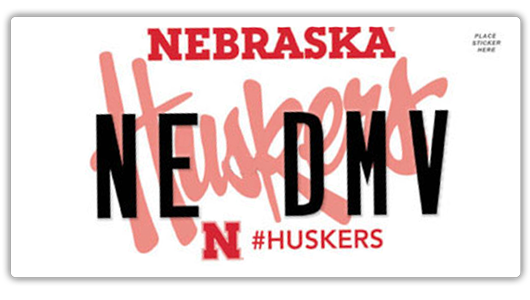 husker plates | nebraska department of motor vehicles