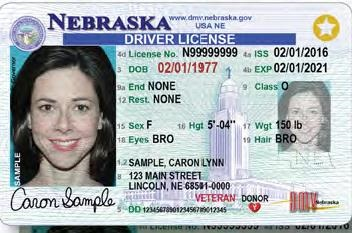 Driver's License (Class O) | Nebraska Department of Motor Vehicles