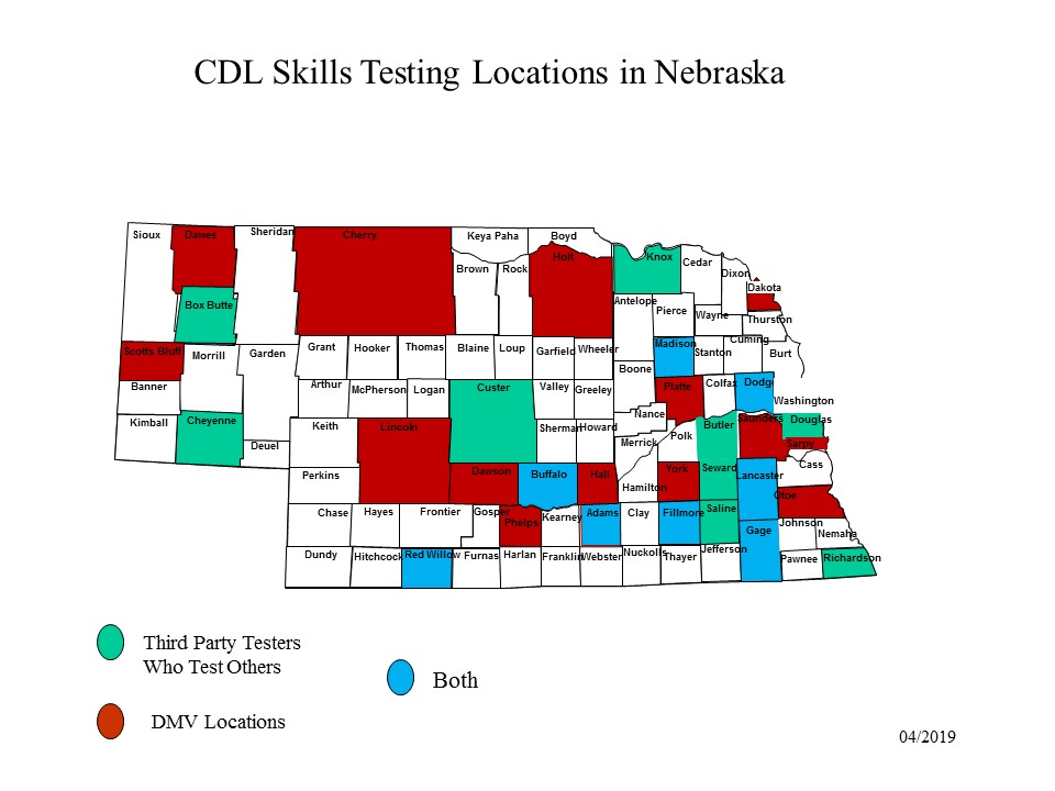 image about Cdl Hazmat Practice Test Printable identified as CDL Tests Nebraska Office of Engine Autos