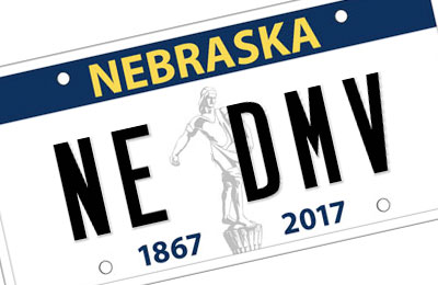 Motor Vehicles Plates Of Department License Nebraska